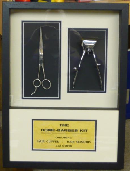 Framed Barber Scissors