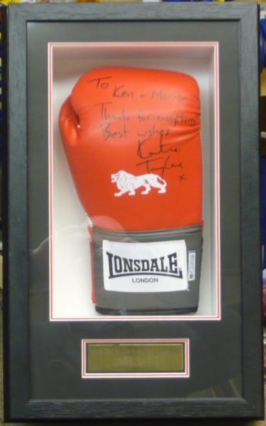 Framed Boxing Glove 2