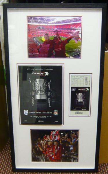 Framed Liverpool Memories