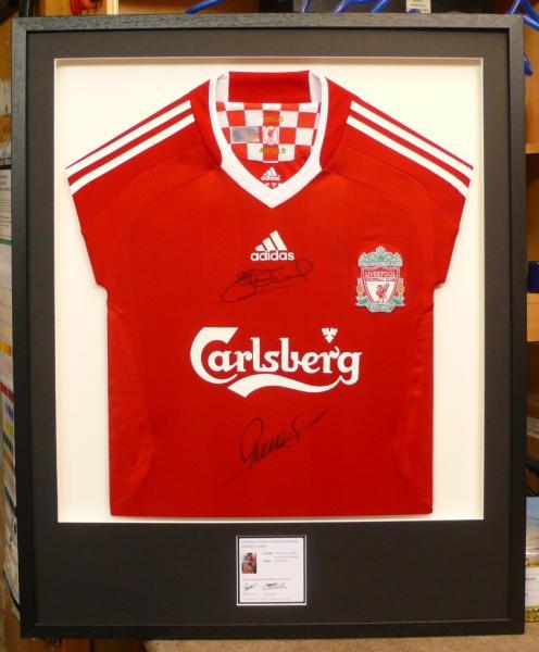 Framed Signed Jersey