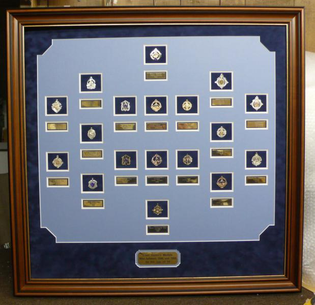 GAA Medals in a Frame