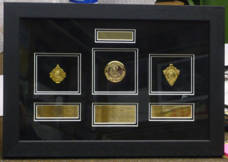 Medal in Black Frame