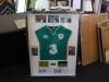 Framed Irish Rugby jersey