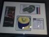 Framed Golf Memorabelia
