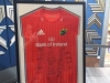 Framed Munster jersey