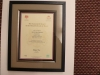 Framed Music Certificate