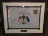 Framed Golf Flag
