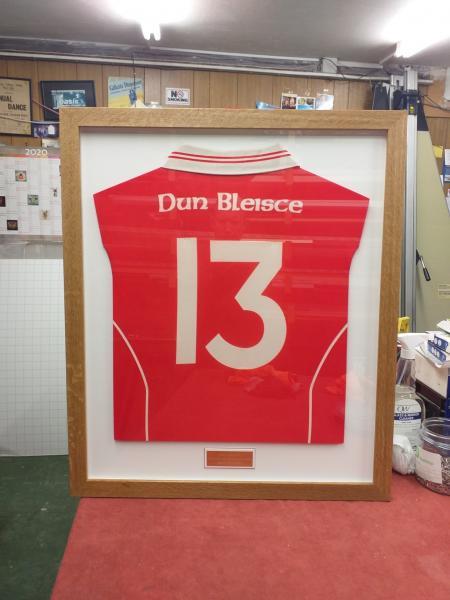 framed Doon jersey