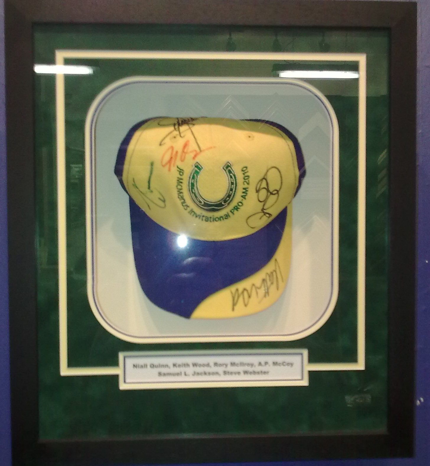 Framed cap